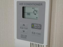 施設内写真 エアコンは各部屋で設定が可能♪暖房・冷房OK ...